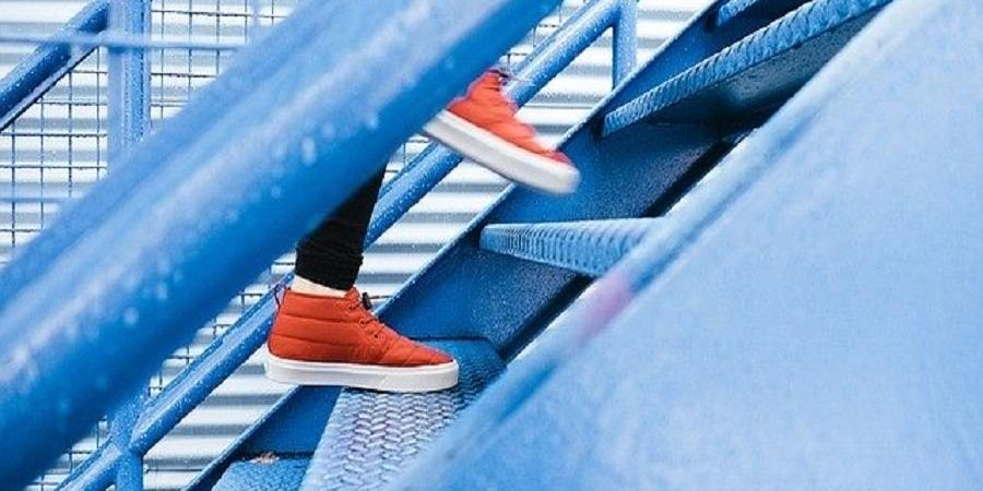 escalier asymetrique